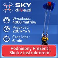 skoki w tandemie z instruktorem - skydive.pl